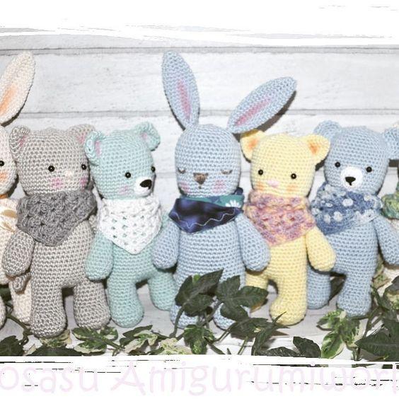 Die neuen tierische Kuschelfreunde #amigurumi #crochet #häkeln #häkelfigur by josasudesign