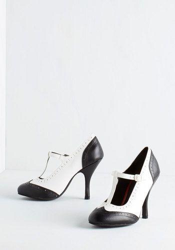 Spat Me if You Can Heel   Mod Retro Vintage Heels   ModCloth.com