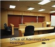 Office of Administrative Hearings:  This webpage provides resolutions of administrative matters, ensuring due process.  http://www.dgs.ca.gov/oah/Home.aspx