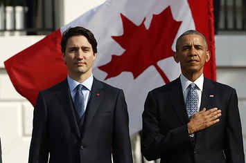 Justin Trudeau And Barack Obama Are Having The Most Brotastic State Visit