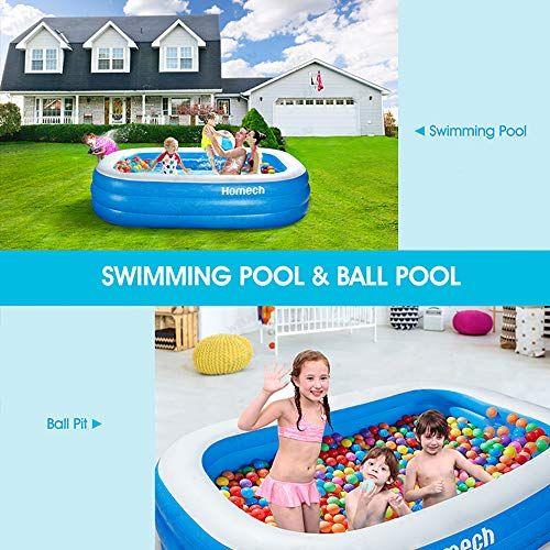 Homech Inflatable Swimming Pools Kiddie Pools Family Lounge Pools Family Swimming Pool For Kids Ad Swimming Pools Family Lounge Pool Inflatable Lounge Pool