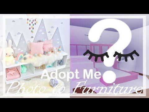 Photo To Furniture 2 Adopt Me Build Hacks Youtube V 2020 G