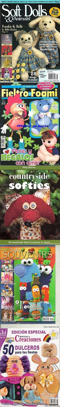 revistas y libros sobre las muñecas y juguetes | Artículos en la categoría revistas y libros sobre muñecas y juguetes | Blog Yuliya_Zh