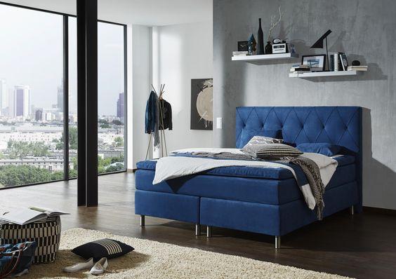 Boxspringbett von ELEGANDO Bedroom main Pinterest Bedrooms - möbel höffner schlafzimmer