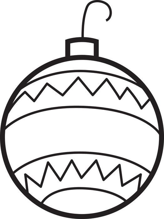 Christmas Ornaments Coloring Page 2 Christmas Ornament Coloring Page Printable Christmas Ornaments Christmas Tree Coloring Page