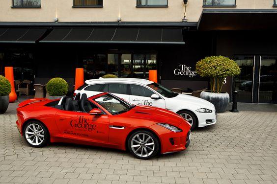 Jaguar at The George Hotel