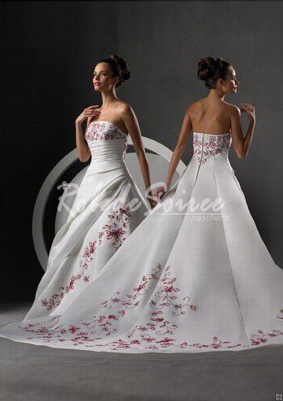 A-ligne bretelles des robes de mariée [DRESS06090071] - €198.89 : Robe de Soirée Pas Cher,Robe de Cocktail Pas Cher,Robe de Mariage,Robe de Soirée Cocktail.