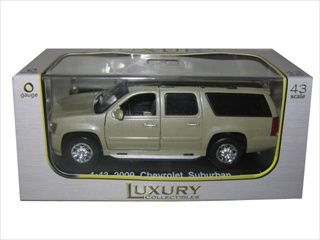 (Limited Supply) Click Image Above: 2009 Chevrolet Suburban Gold 1/43 Diecast Car Model By Luxury Diecast