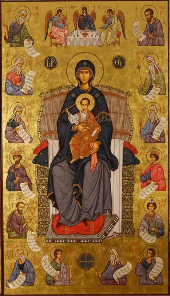 Maica Domnului si profetii