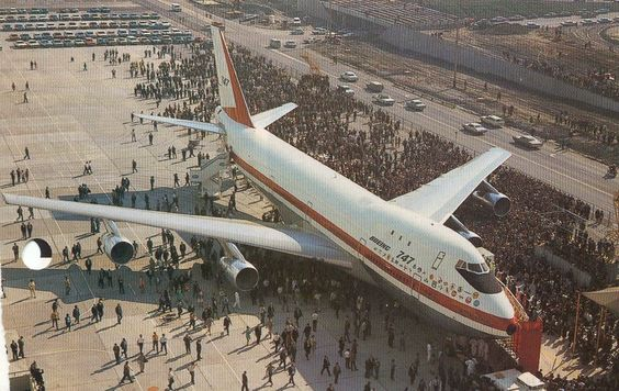 The Boeing 747, which made it's first flight from JFK to London on this date in 1970! Later this aircraft (Clipper Victor) would be involved in the biggest aviation disaster in history, at a small airport in Tenerife...