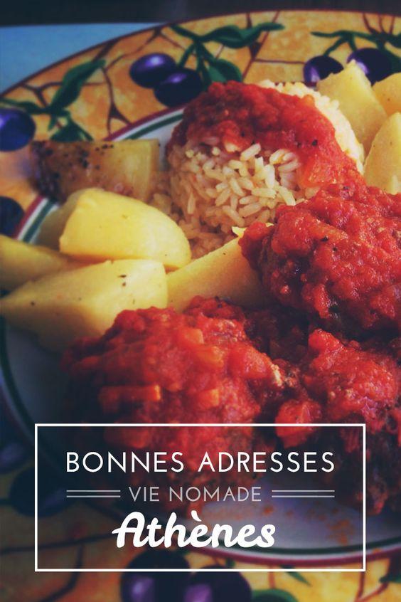 Où manger à Athènes, découvrez mes bonnes adresses! http://www.vie-nomade.com/2014/athenes-manger-restaurants/ #athens #food #greece