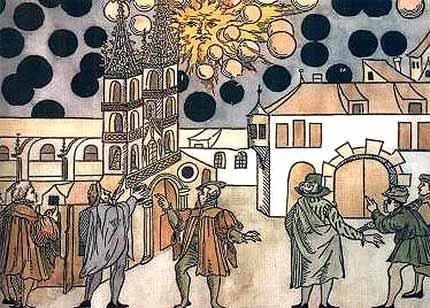 Sfere e oggetti luminosi dai tempi antichi nell'arte e la religione extraterrestre!