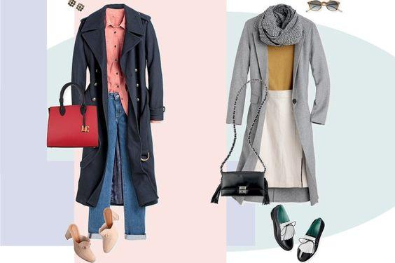 Dois looks para arrasar com casaco sobretudo no inverno