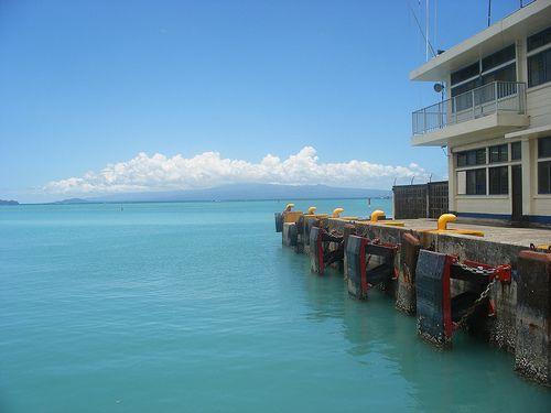 Mulifanua Wharf Upolu im Samoa Reiseführer http://www.abenteurer.net/2785-samoa-reisefuehrer/