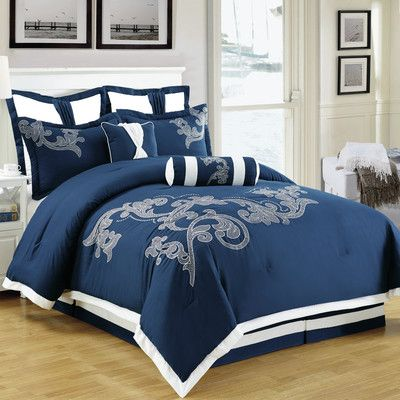 Homechoice International Group Sela 8 Piece Comforter Set