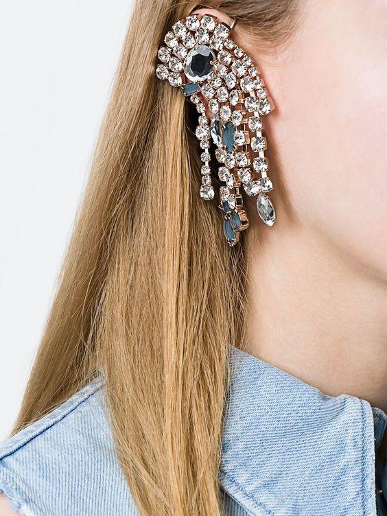 Maison Margiela embellished mono earring