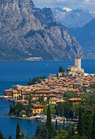 Malcesine, Lago di Garda, Veneto, Italy:
