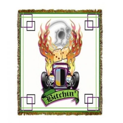 Ford Deuce Coupe Dice Tapestry