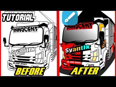 Cara Membuat Vector Truck Android Memberi Warna Pada Line Art Truk Nmr71 Syantik Simpel Youtube Di 2021 Konsep Mobil Desain Logo Pengeditan Foto
