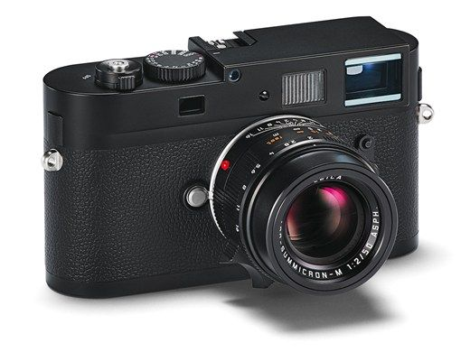 Leica M Monochrom, the world's first digital camera exclusively for full-frame, 35 mm black-and-white photography