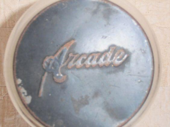 Frascos de vidrio de Arcade clásicos antiguo por BluePorchAntiques