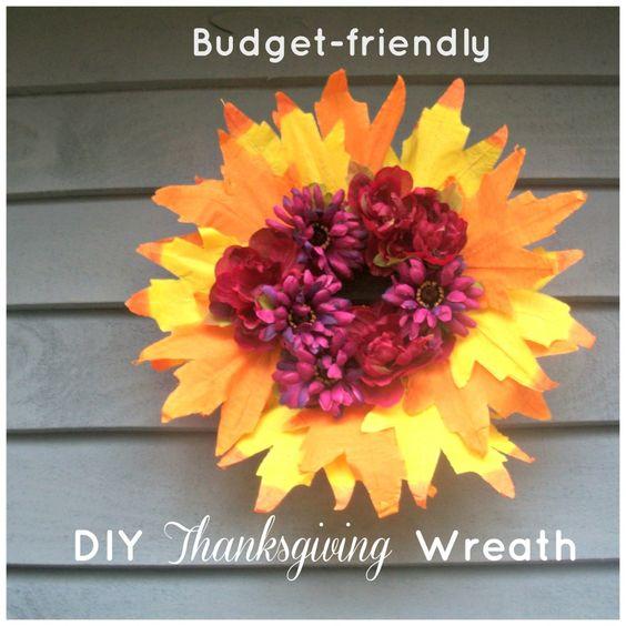 DIY Thanksgiving Wreath on a Budget @Sara @ Embracing Destiny @Jennifer Drake Embracing the Call Photography Destiny