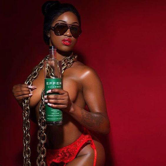 Damn that Effen Vodka look good don't it,lol #EFFENVODKA #FRIGO #SMSAUDIO