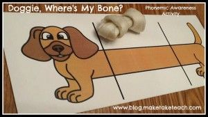 Cute and FREE phonemic awareness activity to use during your small group instruction