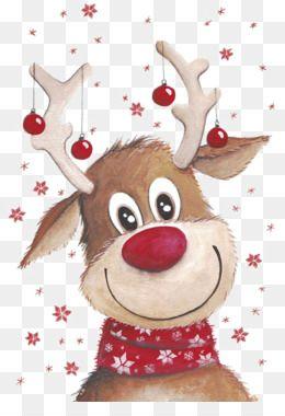 Free Download Rudolph Santa Claus S Reindeer Santa Claus S Reindeer Clip Art Christmas Deer Png Christmas Paintings Christmas Art Christmas Pictures