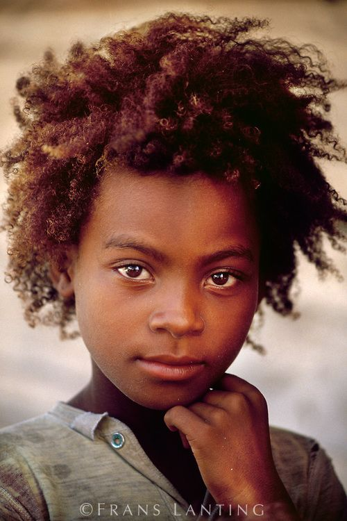 Young Girl of the Vezo People (whose identity is contextual and achieved by doing, embodied in learned skills such as fishing or swimming and the callouses they produce, rather than in blood, genes, or skin color), Western Madagascar.