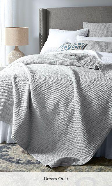 Garnet Hill Cotton Quilts and Coverlets. Dream Cotton Quilt.
