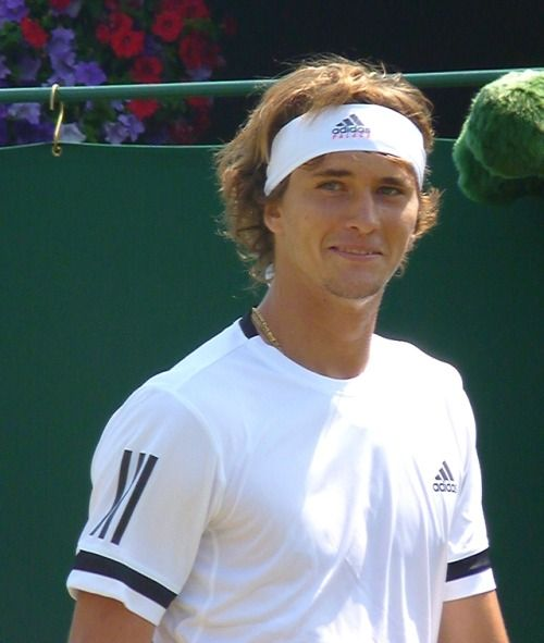 He Knew How S He Really Cute Isn T He Domiandsascha Tumblr Alexander Zverev Tennis Players Sports Stars