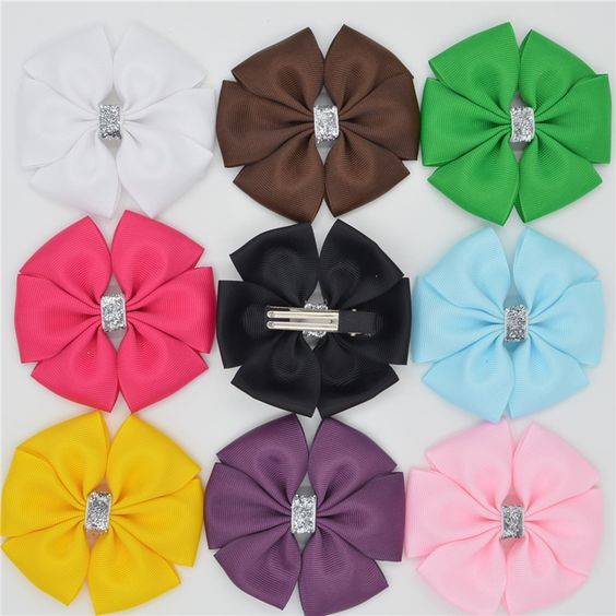 $1.60 (Buy here: http://appdeal.ru/7trq ) Handmade Ribbon barrettes Clips Boutique girl women Hair Bows With Clip Hairpins For Kids Girl Hair Accessories headwear for just $1.60