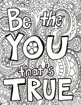 Adult Coloring Page Quote Coloring Pages Free Adult Coloring Pages Coloring Pages
