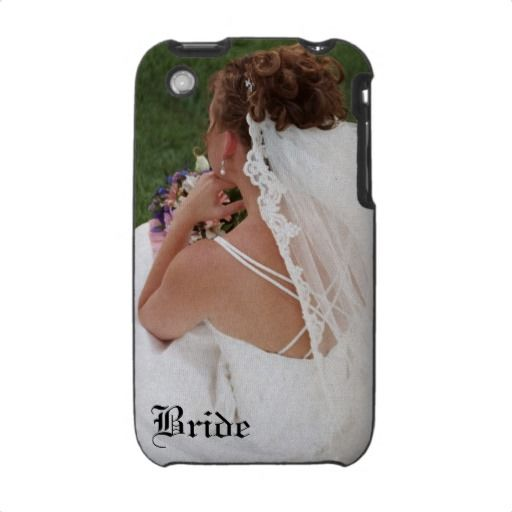 Floral Bride Wedding 3g iphone Cover Cases