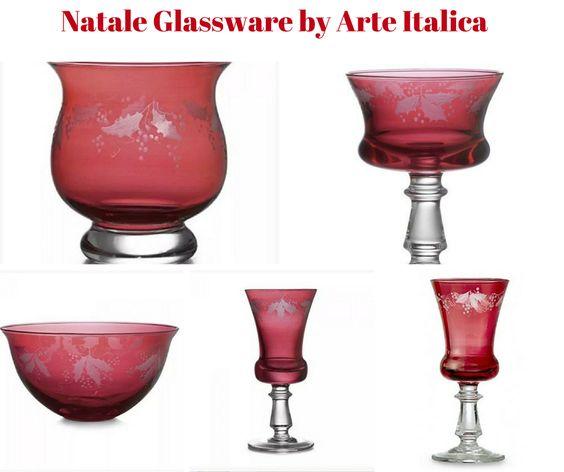 Natale Glassware by Arte Italica