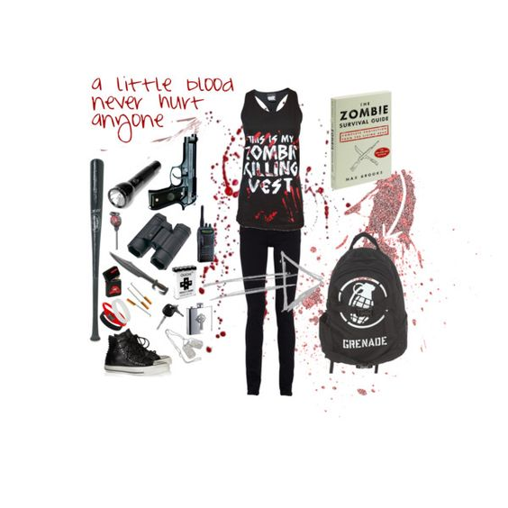 """""""The zombie apocalypse is coming."""" by josinclair on Polyvore"""