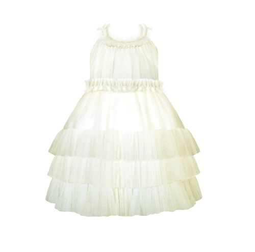 Stella Industries - Starlet Tulle Dress in Ivory Holiday Spring 2013