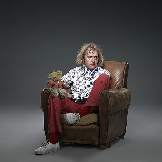 Grayson Perry and Alan Measles