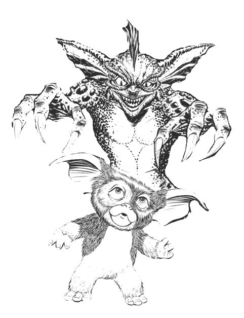Gremlins Coloring Pages Coloring Pages