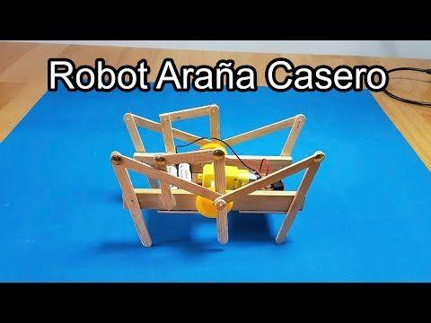 Cómo Hacer Una Araña Robot Casero Un Robot Araña Hexapodo
