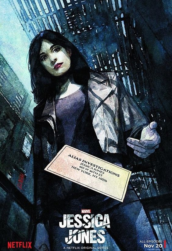 Jessica Jones Full-Length Trailer - Netflix has launched a new full-length trailer for Marvel's Jessica Jones, kiddies. Zip on down to that player to check it out! Created by Brian Michael Bendis and Michael Gaydos, Jones is a superhero suffering with post-traumatic stress disorder, which leads to her hanging up her costume...
