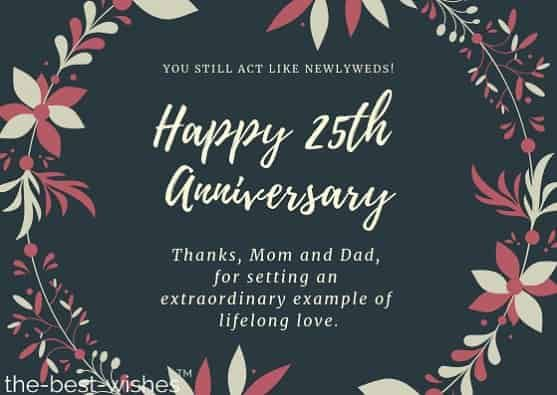 The Best Wedding Anniversary Wishes For Parents Anniversary