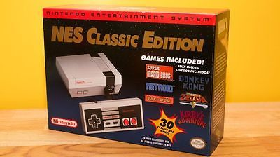 Nintendo NES Classic Edition Console 30 Built-In Games - Brand New In Hand https://t.co/6Q4I3Ld2DL https://t.co/SOwCiuAEGJ