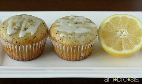 Lemon Poppy Yogurt Muffins - these sound so good.  I might replace some of the sugar/oil with apple sauce.