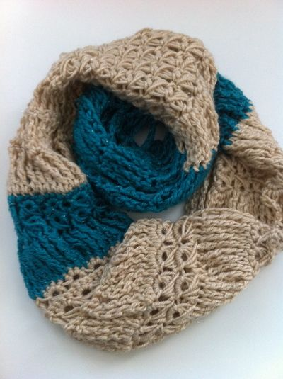 Broomstick Lace #Crochet Infinity Scarf Free Pattern | Future ...
