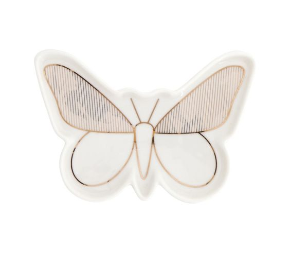 BUTTERFLY DISH: BE BRAVE. So cute for keeping my rings in.