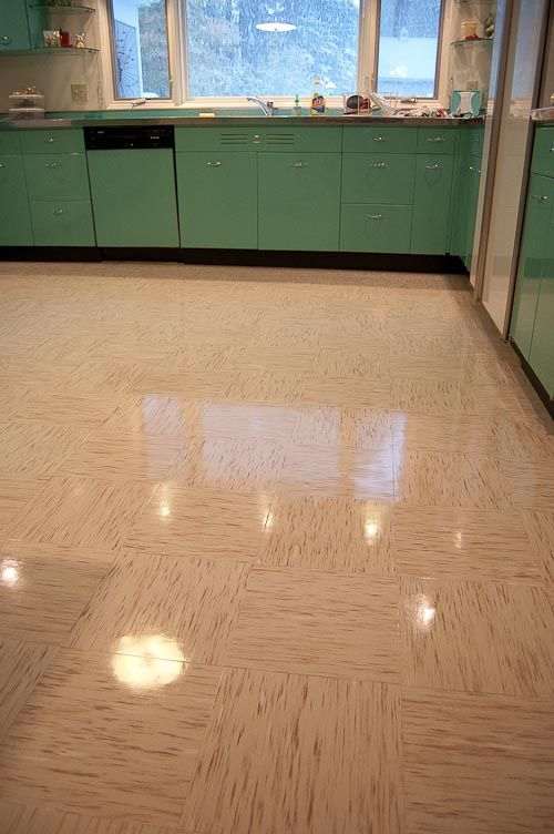Azrock cortina autumn haze flooring in four kitchens any for Flooring suitable for kitchens