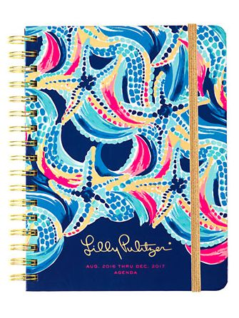 ocean print large agenda - Lilly Pulitzer