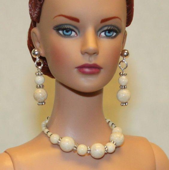 """River Stones"" Jewelry Set for Tonner Tyler Ellowyne DeeAnna Gene Sybarite Dolls"